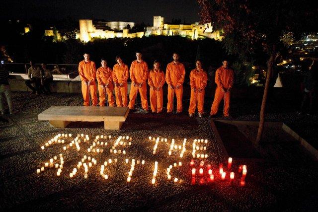 Trente membres d'équipage du navire de GreenpeaceArctic Sunriseavaient... (PHOTO PABLO BLAZQUEZ DOMINGUEZ, ARCHIVES AFP/GREENPEACE)