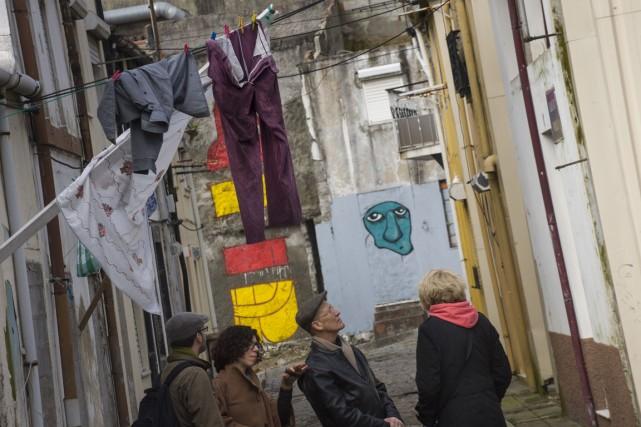Le recul du chômage au Portugal a été... (Photo AFP)