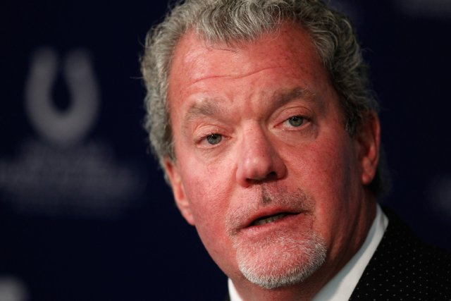 Le propriétaire des Colts d'Indianapolis, Jim Irsay, aurait... (Photo Michael Conroy, AP)