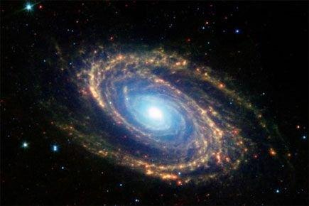 Selon la théorie communément admise, l'univers est né... (Photo archives Reuters)
