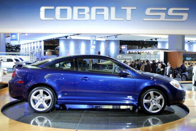 Plus de 780 000 Cobalt (photo) et 850... (PHOTO Gregory Shamus, ARCHIVES REUTERS)