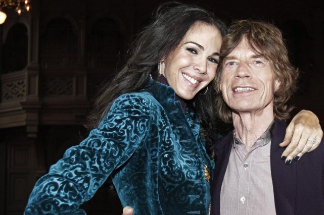 L'Wren Scott et Mick Jagger en 2012.... (Photo: archives AP)