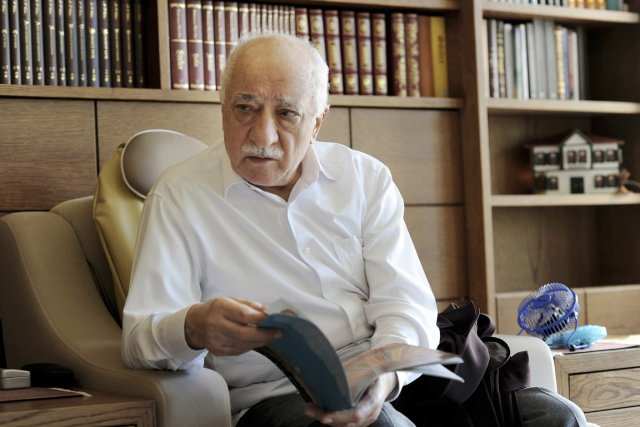 Le prédicateur musulman Fethullah Gülen .... (PHOTO SELAHATTIN SEVI, ARCHIVES REUTERS/ZAMAN DAILY)