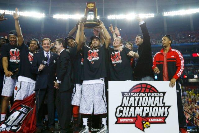 Les Cardinals de Louisville ont remporté le championnat... (Photo Jeff Haynes, archives Reuters)