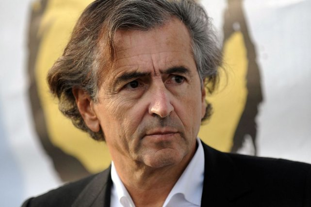 Bernard-Henri Lévy... (Photo: archives AFP)