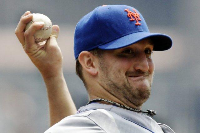 Le lanceur des Mets de New York, Jonathon... (Photo Gene J. Puskar, AP)