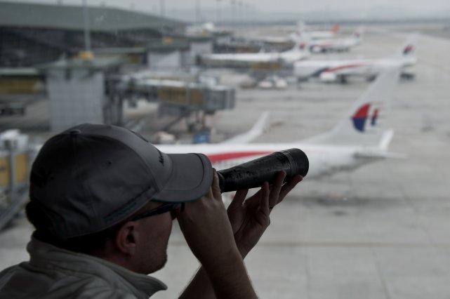 La dernière position connue du Boeing 777, selon... (Photo MOHD RASFAN, AFP)