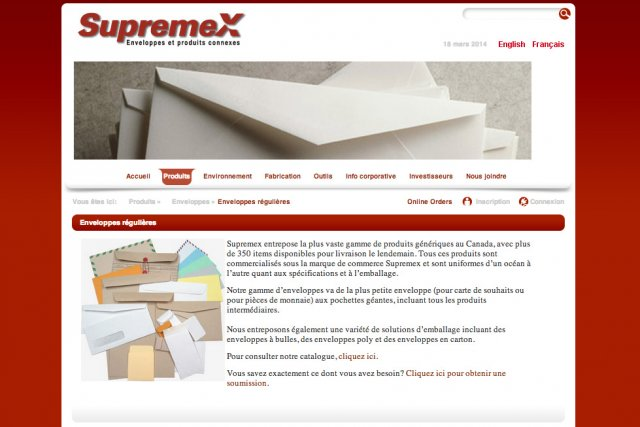 Supremex est un ancien titre chouchou des investisseurs...