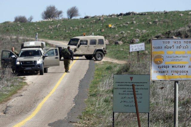 Plusieurs soldats israéliens ont été blessés par une... (PHOTO JALAA MAREY, ARCHIVES AFP)