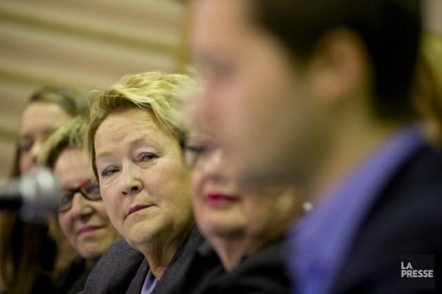 Pauline Marois... (Photo David Boily, La Presse)