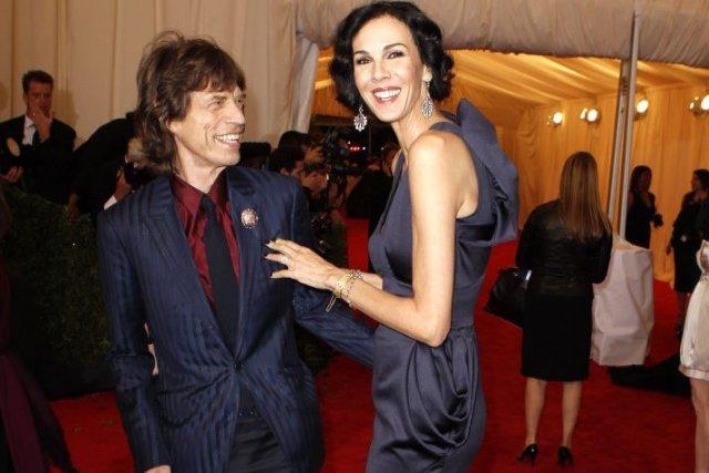 Mick Jagger et L'Wren Scott en mai 2012.... (Photo: archives Reuters)