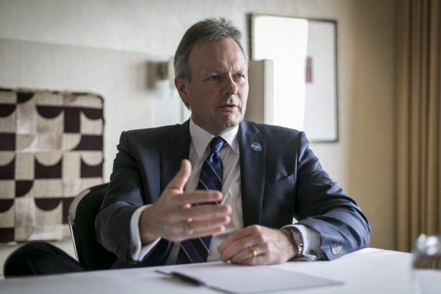Stephen Poloz a également évoqué l'existence possible d'une nouvelle... (Photo Ian Waldie, Bloomberg)