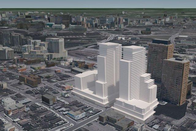 Tout indique que le projet d'immeuble commercial et résidentiel de 33 étages... (Courtoisie)