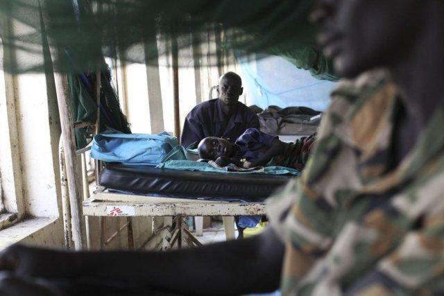 Les enfants soudanais sont confrontés à des situations... (PHOTO ANDREEA CAMPEANU, REUTERS)