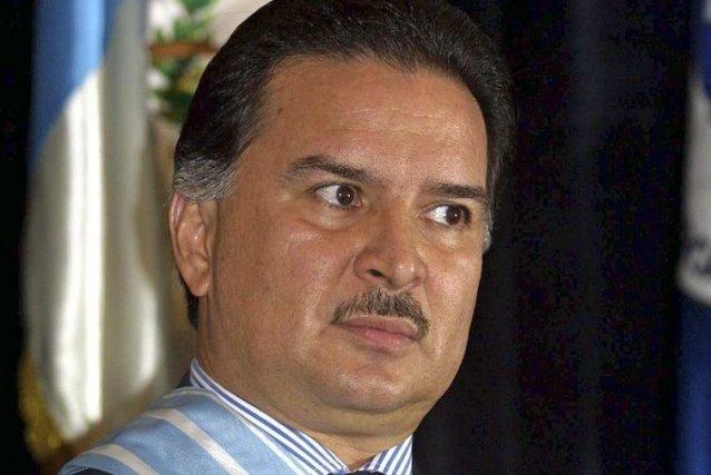 Alfonso Portillo en 2002.... (PHOTO ORLANDO SIERRA, AFP)