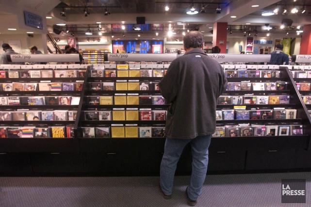 Les ventes de musique en formats physique et numérique diminuent au Québec,... (PHOTO MARTIN CHAMBERLAND, ARCHIVES LA PRESSE)