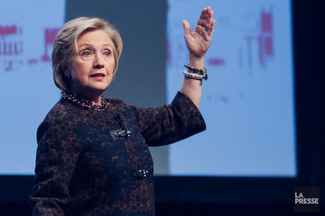 L'ex-Secrétaire d'État américaine Hillary Clinton était de passage... (Photo Edouard Plante-Fréchette, La Presse)