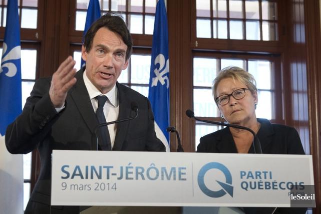 Pierre Karl Péladeau est en tête pour remplacer... (Photothèque Le Soleil)