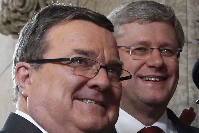 JimFlaherty termine sa carrière à la veille du... (Photo Patrick Doyle, Canadian Press)