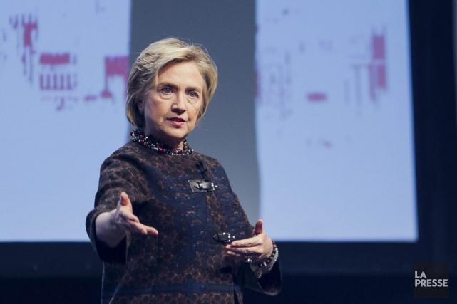 Hillary Clinton... (Photo Édouard Plante-Fréchette, La Presse)
