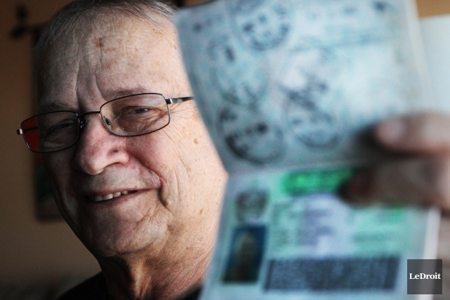 À 72 ans, Michel Lacroix repartira en juillet,... (Photo Étienne Ranger, Le Droit)