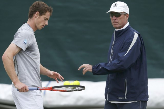 Andy Murray et Ivan Lendl... (Photo Eddie Keogh, Reuters)