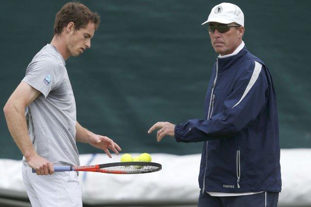 Andy Murray et Ivan Lendl... (Photo Eddie Keogh, Reuters)