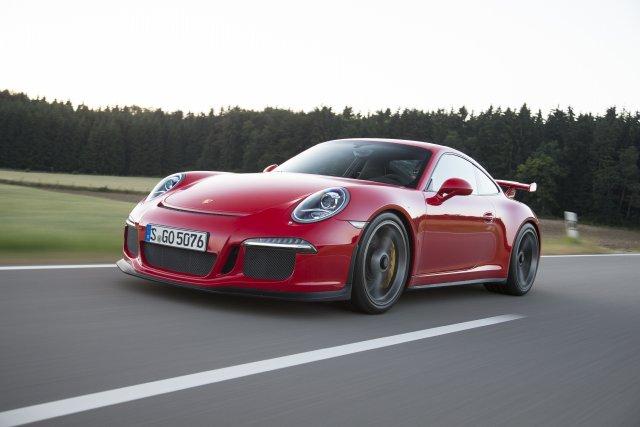 La Porsche 911 GT3... (Photo fournie par Porsche)