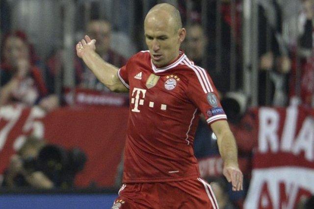 Arjen Robben... (Photo Johannes Eisele, Agence France-Presse)