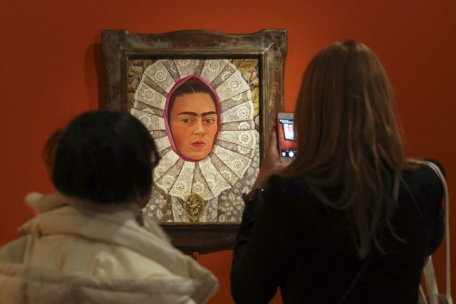 Une toile de Frida Kahlo.... (Photo: Reuters)