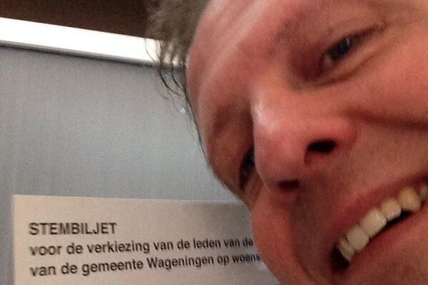 Le chef de file des centristes, Alexander Pechtold,... (Photo Twitter)