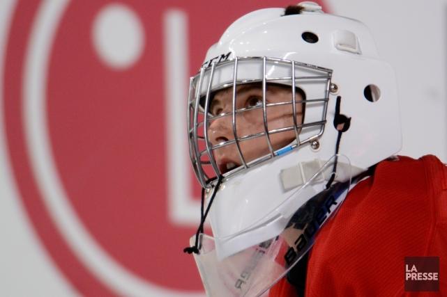 Zachary Fucale, un espoir du Canadien, a remporté... (Photo Bernard Brault, archives La Presse)