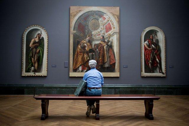 Disséminée aux quatre coins du monde, l'oeuvre de Véronèse, l'un des grands... (Photo: AFP)