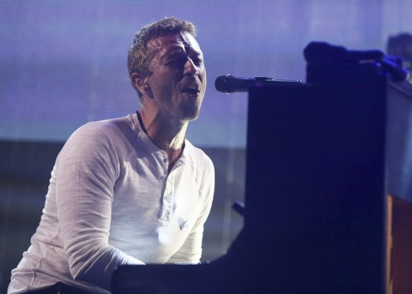 Chris Martin... (Photo: AP)