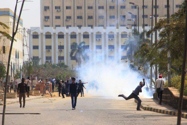 Depuis juillet, plus de 1400 manifestants pro-Morsi ont... (Photo: AP)