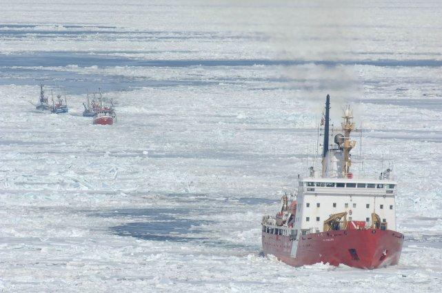 La Voie maritime doit ouvrir officiellement entre le... (Photo REUTERS)