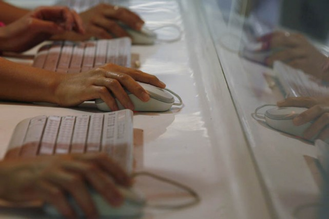 Le programme Prism permet notammentdepuis 2007 à la... (Photo: archives AP)