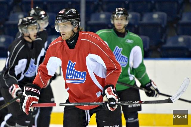 L'attaquant Mikhail Grigorenko, qui n'a jamais rien cassé... (Le Soleil, Pascal Ratthé)