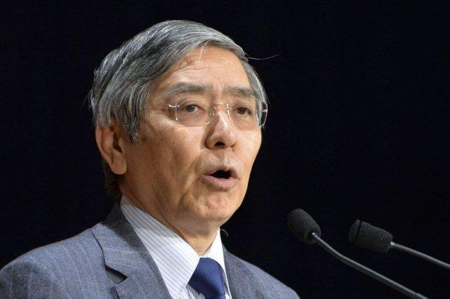 Le gouverneur de la Banque du Japon,Haruhiko Kuroda.... (PHOTO KAZUHIRO NOGI, AFP)