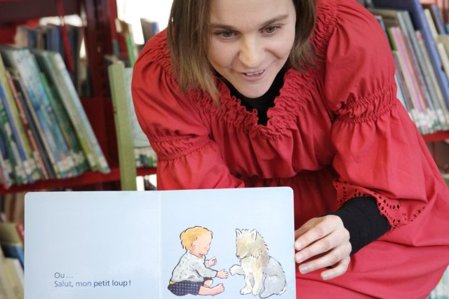 Le défi Lire ensemble propose des moments de... (Photo: fournie par le Festival Petits bonheurs)