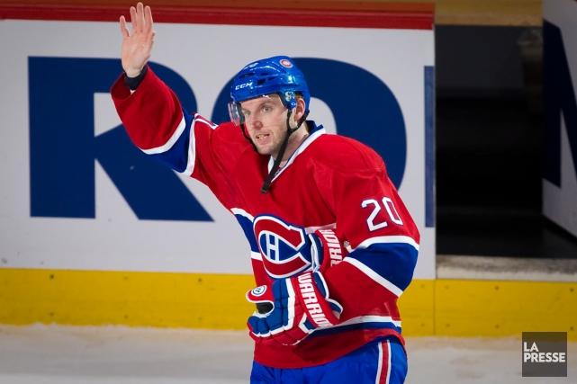 Avec ses trois buts marqués contre l'Avalanche, mardi,... (Photo André Pichette, La Presse)
