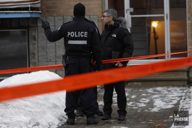 La femme de 32 ans tuée par balles dans l'arrondissement de Lachine le 20 mars... (Photo Patrick Sanfaçon,La Presse)
