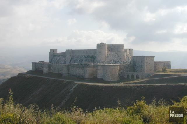 LeKrak des Chevaliers est une forteresse construite par... (PHOTO ARCHIVES LA PRESSE)