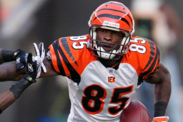 L'ancien receveur des Bengals de Cincinnati Chad Johnson... (Photo Ron Schwane, archives AP)