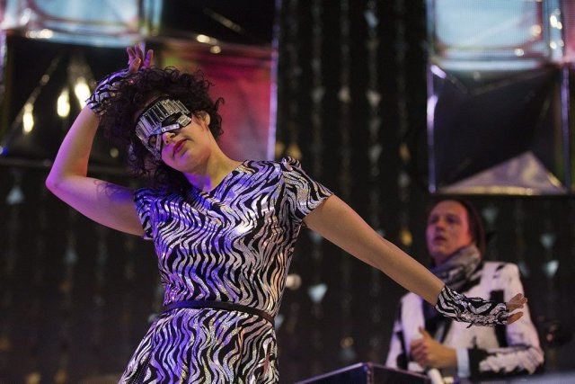 Régine Chassagne et Win Butler d'Arcade Fire en... (Photo: La Presse Canadienne)