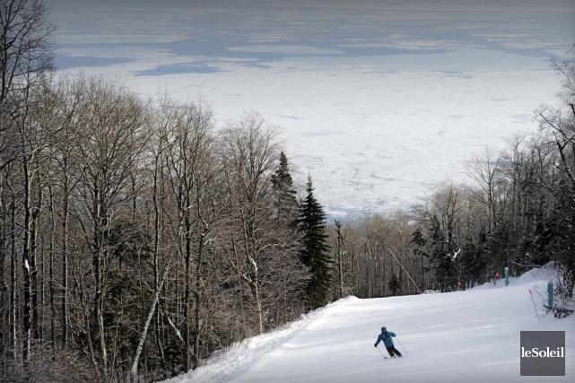 Trois des principales stations de ski - dont... (Photothèque Le Soleil)