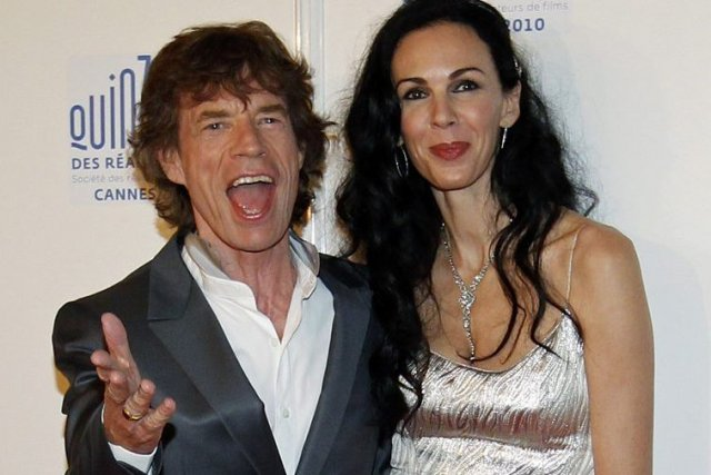 Mick Jagger et L'Wren Scott en mai 2010.... (Photo: archives Reuters)