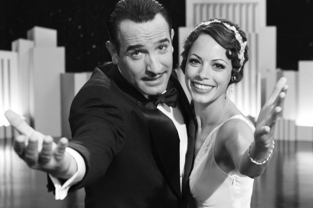 Jean Dujardin et Bérénice Beko dans The Artist.... (Photo fournie par la production)