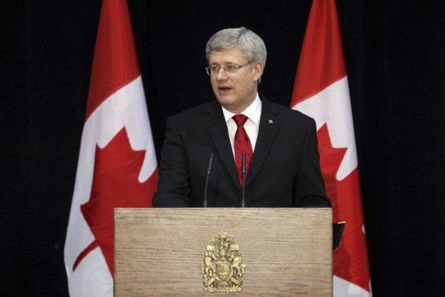 M. Harper, l'un des dirigeants les plus expérimentés... (Photo AFP)