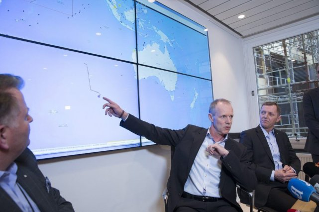 Des satellites ont détecté deux «objets» dans le... (Photo Reuters)